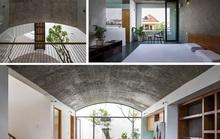 Ngôi nhà như hang động nhờ thiết kế không gian vòm độc đáo