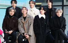 Nhóm nhạc mỹ nam BTS chạm vị trí số 1 trên bảng xếp hạng Billboard Hot 100