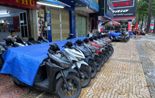 Xe máy ngoại nhập đua nhau giảm giá