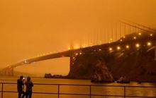 Bầu trời San Francisco biến thành màu cam như sao Hỏa