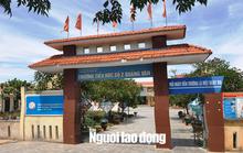 Quảng Bình: Nữ hiệu trưởng dọa mang xăng xử trưởng phòng giáo dục vì cho rằng bị chèn ép?