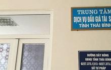Bắt 1 nữ cán bộ của Trung tâm Dịch vụ đấu giá Thái Bình về tội tham ô