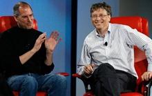Tạo ra gã khổng lồ Microsoft, Bill Gates vẫn ghen tị với Steve Jobs