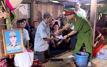 Bộ trưởng Tô Lâm biểu dương sự dũng cảm hi sinh của công an viên