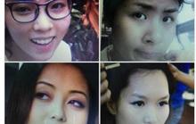 Choáng với nhan sắc thật của mỹ nhân showbiz Việt