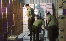 Đột kích kho hàng hơn 38.000 chai sữa chua uống không rõ nguồn gốc ở thủ phủ La Phù