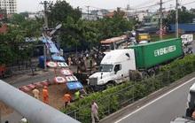 Hung thầncontainer lại gây họa khiến giao thông kẹt cứng