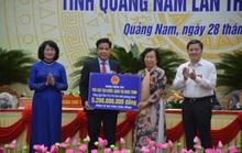 Phó chủ tịch nước dự Đại hội Thi đua yêu nước tỉnh Quảng Nam và TP Đà Nẵng