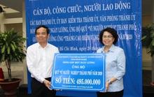 """Hơn 500 triệu đồng ủng hộ Quỹ Vì người nghèo"""""""