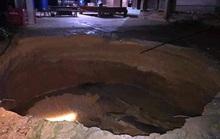 Hố tử thần xuất hiện trong nhà dân ở Quảng Bình