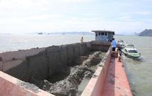 Tàu nạo hút, đổ trộm chất thải xuống vùng lõi vịnh Hạ Long