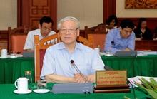 Bộ Chính trị làm việc với 10 đảng bộ trực thuộc Trung ương