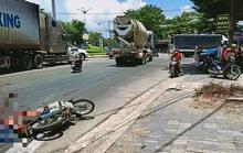 Ninh Thuận: Thăm bệnh, bị xe bồn cán, 1 người chết, 1 người bị thương
