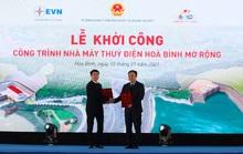 Vietcombank cấp khoản tín dụng 4.000 tỉ đồng tài trợ xây dựng công trình nhà máy thủy điện Hòa Bình mở rộng.