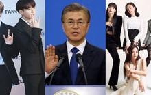 Tổng thống Hàn Quốc khen BTS, Blackpink, phim Ký sinh trùng