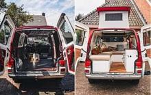 Ngôi nhà ấm áp được cải tạo từ chiếc xe Volkswagen T4 Transporter