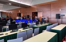 Trung tâm Báo chí Đại hội XIII: Lắp đặt sẵn hệ thống máy tính kết nối mạng
