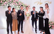 Chùm ảnh: Dàn sao dự đám cưới lần ba của Cô Đẩu Công Lý với cô dâu kém 15 tuổi