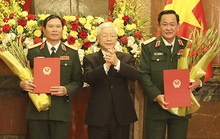 Quân đội có thêm 2 Thượng tướng
