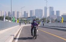Cầu Phước Lộc thông xe,  người dân Nhà Bè vỡ òa niềm vui!