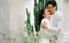 MC của VTV Thuỳ Linh chia sẻ bộ ảnh cưới lung linh với chồng sắp cưới kém 5 tuổi