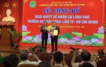 PGS-TS Huỳnh Thanh Hùng giữ quyền hiệu trưởng Trường ĐH Nông Lâm TP HCM