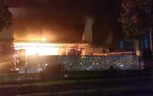 CLIP: Cháy quán cà phê trong Trung tâm đào tạo vận động viên cấp cao đêm 30 tết