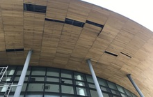 Nhà hát 200 tỉ đồng vừa hoàn thành đã xuất hiện hư hỏng