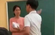 """Sở GD-ĐT Hà Nội báo cáo gì về kết quả xác minh clip """"nam sinh tát cô giáo trên bục giảng""""?"""