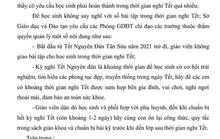 Hàng trăm phụ huynh chia sẻ công văn của Sở GD&ĐT tỉnh Bà Rịa - Vũng Tàu