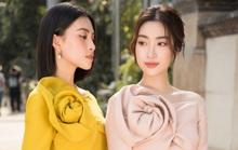 Đỗ Mỹ Linh - Tiểu Vy mười phân vẹn mười trong áo dài du xuân