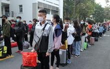 Đưa 880 sinh viên về quê đón Tết an toàn giữa mùa dịch