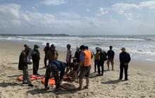 Quảng Ngãi: Hai người bị sóng biển cuốn mất tích