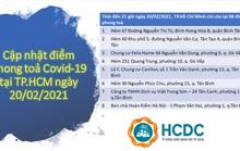 TP HCM chỉ còn 8 điểm phong tỏa phòng chống dịch Covid-19