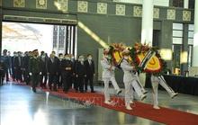 Tổng Bí thư, Chủ tịch nước gửi vòng hoa tới viếng nguyên Phó Thủ tướng Trương Vĩnh Trọng
