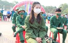 Nữ tân binh: Nghĩa vụ bảo vệ Tổ quốc không chỉ của riêng nam giới