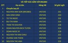 Công bố thông tin hàng chục hành khách đi cùng 2 chuyến bay Hà Nội-TP HCM với bệnh nhân 1883