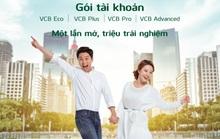 Vietcombank chào sân 4 gói tài khoản đặc biệt