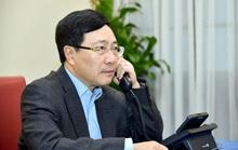 Phó Thủ tướng, Bộ trưởng Phạm Bình Minh điện đàm với tân Ngoại trưởng Mỹ Antony Blinken