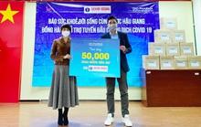 50.000 chai gel rửa tay kháng khuẩn trợ lực 3 tỉnh chống dịch tết Tân Sửu