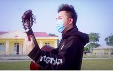 Ca sĩ Minh Vương lạc quan thực hiện MV cổ vũ người dân chống dịch Covid-19 trong khu cách ly