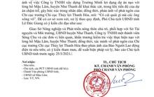 Chủ tịch tỉnh Thanh Hóa yêu cầu xác minh vụ việc sau phản ánh của Báo Người Lao Động