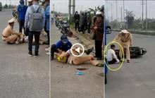 Thiếu niên thông chốt, tông gãy chân, tay thượng úy CSGT