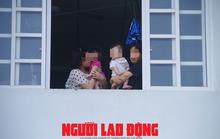 Cho người thân vào khu cách ly chăm sóc trẻ dưới 2 tuổi về từ Hàn Quốc