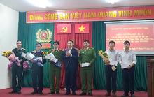 Lực lượng bắt cướp tại ngân hàng BIDV được khen thưởng
