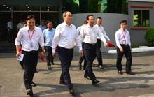 Ông Nguyễn Văn Nên và ông Nguyễn Thiện Nhân thăm Công viên phần mềm Quang Trung