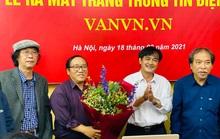Chủ tịch Hội nhà văn Việt Nam muốn đẩy tư thế của nhà văn trước xã hội