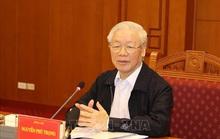 Những hình ảnh Tổng Bí thư, Chủ tịch nước chủ trì họp về một số vụ án, vụ việc