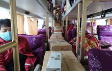 Món hàng bất ngờ trên chiếc xe giường nằm biển số Quảng Trị