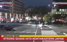 Nhật Bản thoát sóng thần sau trận động đất mạnh